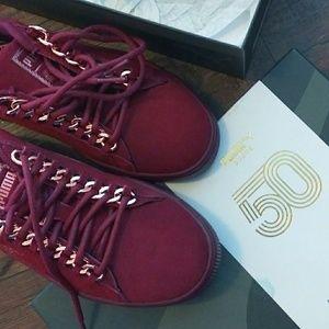 PUMA Suede Classic X Chain Sneakers